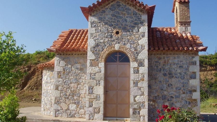 Το χτίσιμο του Άγιου Εφραίμ στο Γιορτορόγγι