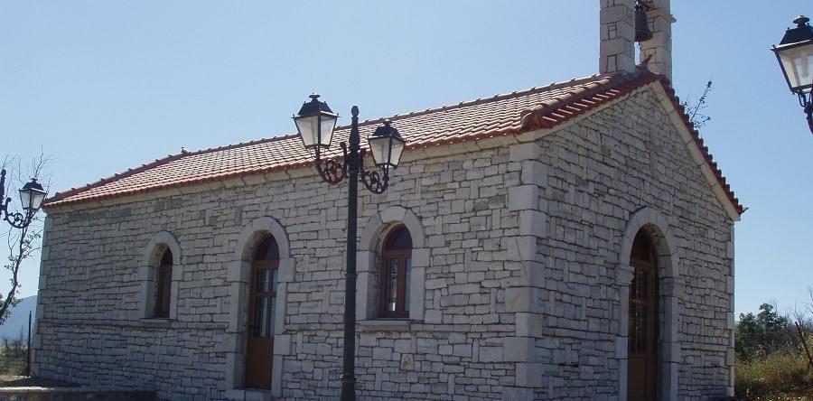 Το χτίσιμο της εκκλησίας του Άη Γιάννη από το Τουρκολέκα